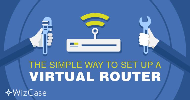 VPNを使ってバーチャルルーターをウィンドウズにセットアップする方法
