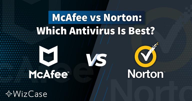 Norton vs McAfee(2021年版) 本当にベストなのはどちらのアンチウイルス?